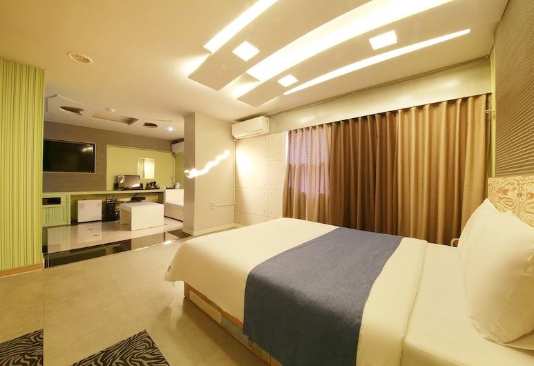 Starry Night Hotel, Incheon, Deluxe Double Room, Guest Room