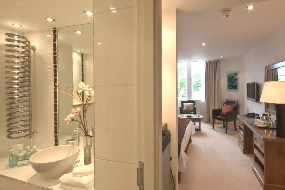 Chambre Classique, vue lac - Salle de bain