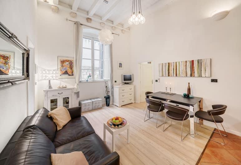 Apartments More Dubrovnik, Dubrovnik, Leilighet – deluxe, 1 soverom, Oppholdsområde