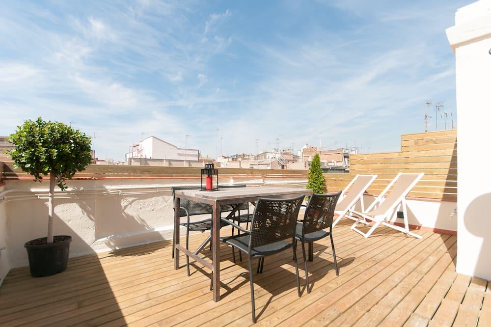 Deluxe-penthouselejlighed - 1 soveværelse - terrasse - Terrasse/patio