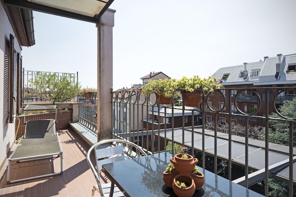 Panoramic Penthouse, 1 Bedroom, Terrace, City View - Balcony