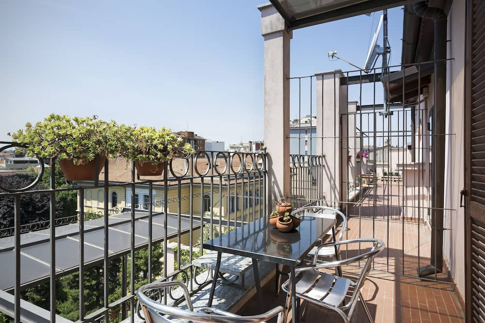 Panoramic Penthouse, 1 Bedroom, Terrace, City View - Terrace/Patio