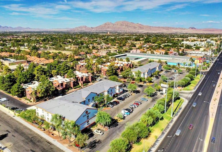 Siegel Select Flamingo, Las Vegas, Výhľad z výšky
