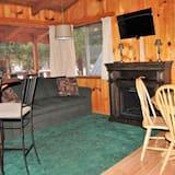 Cabin 8 - 2 bedroom - منطقة المعيشة