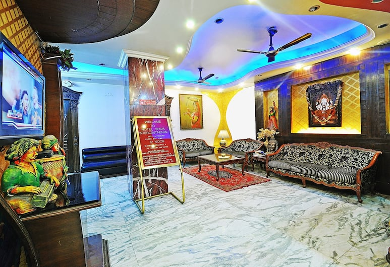Hotel Shiva intercontinental, Yeni Delhi, Lobi Oturma Alanı