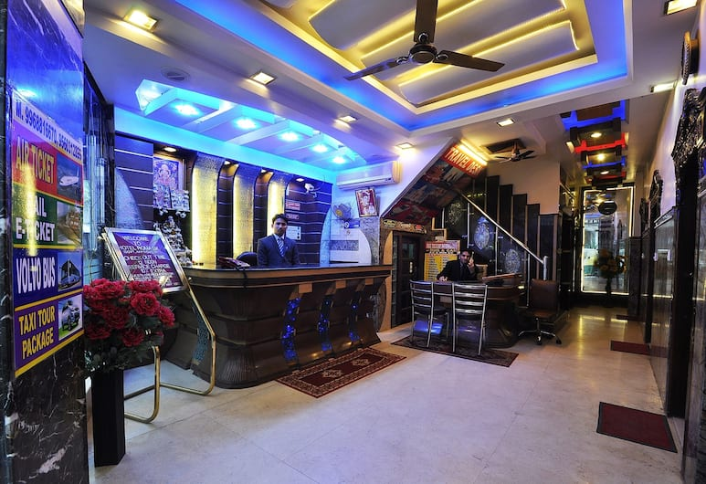 Hotel Roma DX, Nuova Delhi, Reception