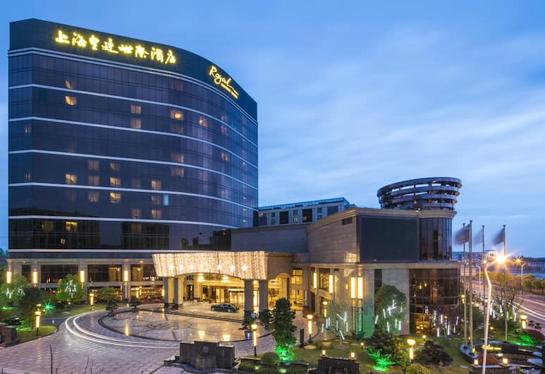 Royal Century Hotel Shanghai, Shanghai, Hotel Front – Evening/Night