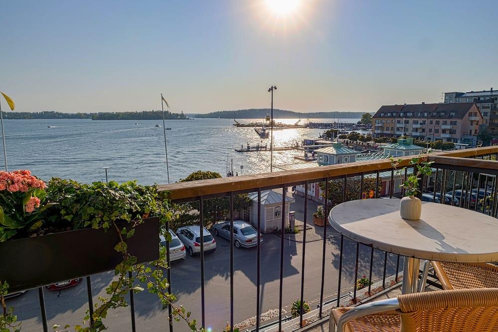 ダブルまたはツインルーム バルコニー オーシャンビュー - バルコニーからの眺望