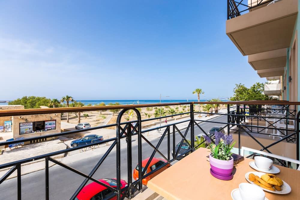 Family Apartment, Sea View - Balkoni