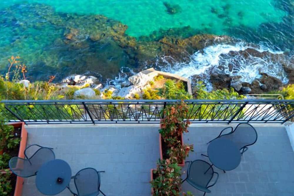 Chambre Double Standard, vue mer, en front de mer - Balcon