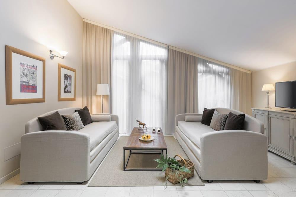 Appartement, 1 chambre (Audrey Hapburn) - Salle de séjour