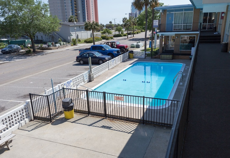 Carolina Tarheel Motel, Myrtle Beach, Vue depuis l'hôtel