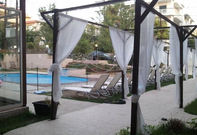 Golden Beach Hotel, Polygyros, Piscina Exterior