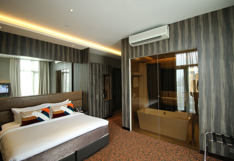 Aqueen Hotel Paya Lebar, Singapore, Guest Room