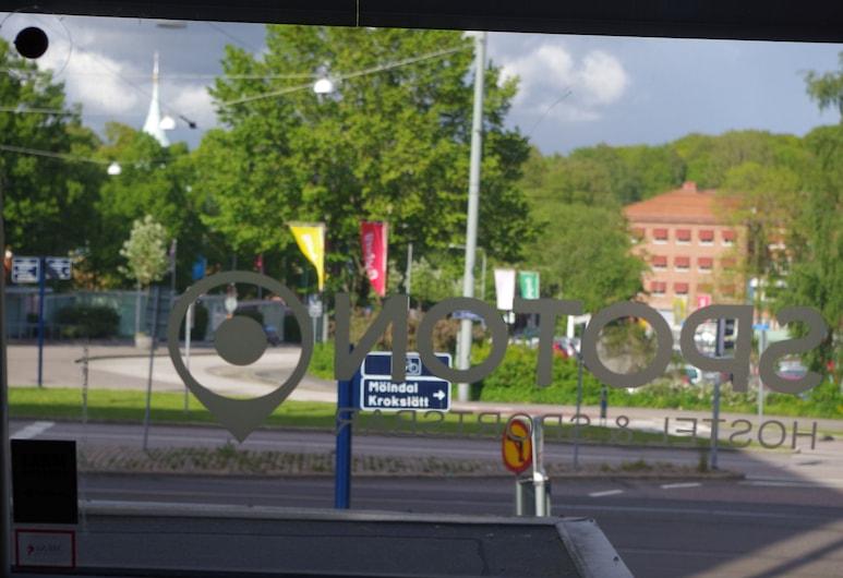 Spoton Hostel & Sportsbar, Gothenburg, Quadruple Room, Private Bathroom, Guest Room View