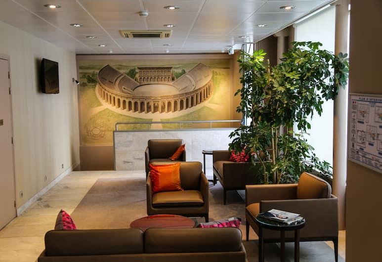艾函酒店, 巴黎, 大堂閒坐區