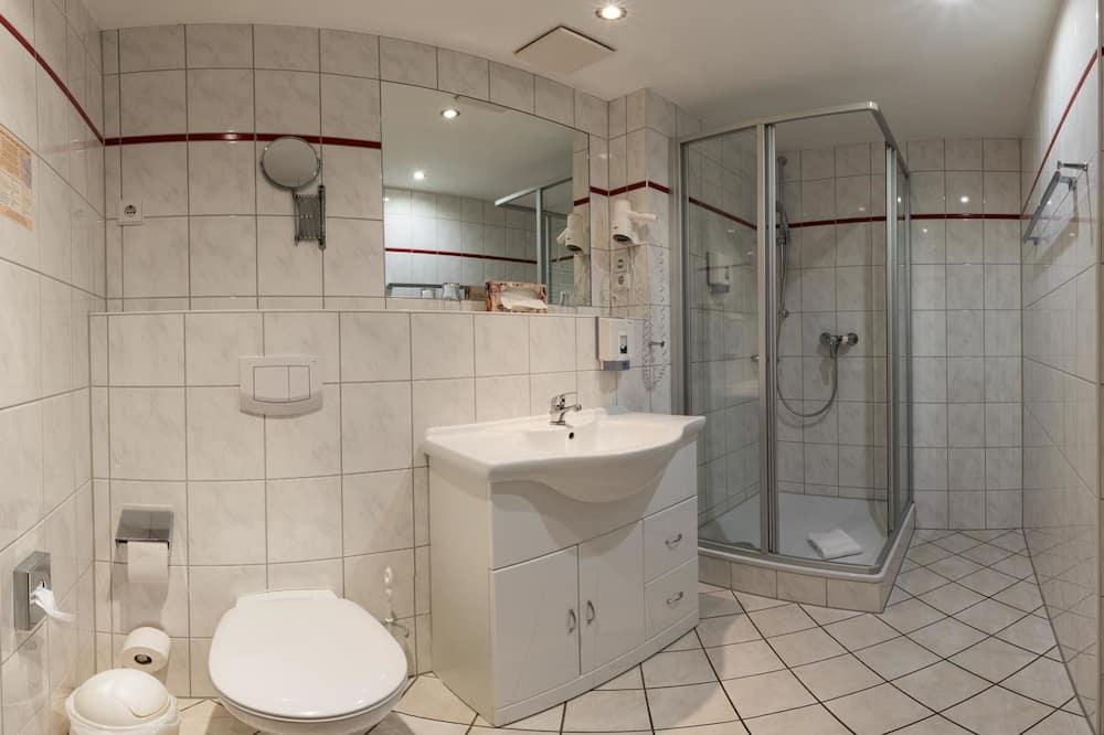 Pokój dwuosobowy (pobyt 1 osoby) - Łazienka