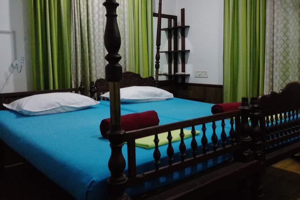 Domek letniskowy dla nowożeńców, 1 sypialnia, z łazienką - Salon