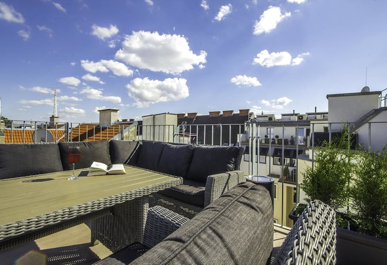 Abieshomes Serviced Apartments - Messe Prater, Wien, Terrasse/Patio