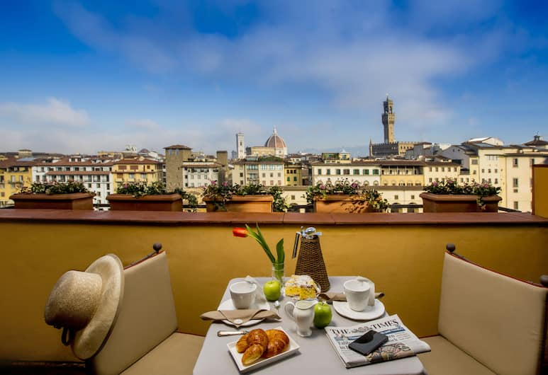 Torre Mannelli Suites, Firenze, Suite (Bardi), Balcone
