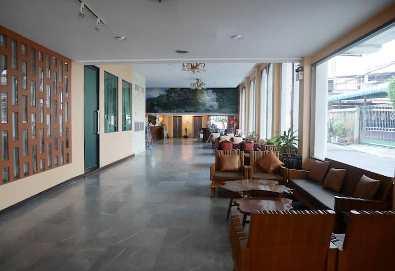 Roma Hotel, Khon Kaen, Sitteområde i lobbyen