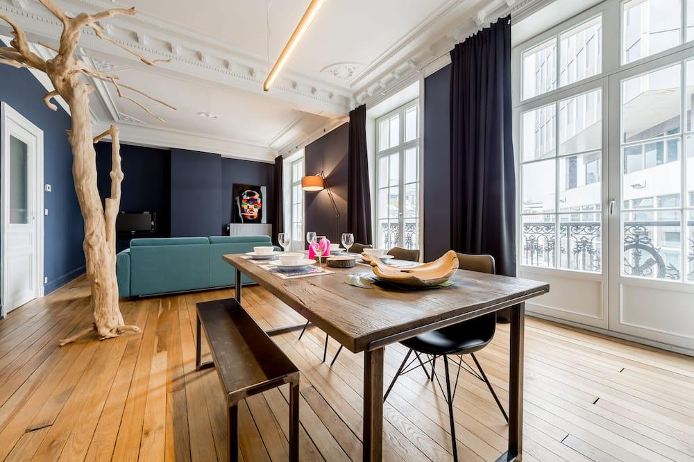 Superior-lejlighed - 2 soveværelser - Spisning på værelset