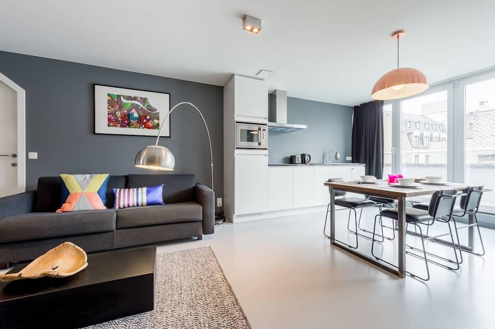 Lejlighed - 1 soveværelse - Stue