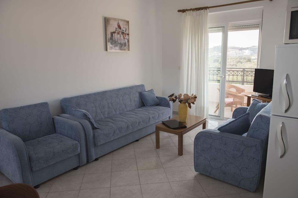 Appartement Familial, 1 chambre, non-fumeurs, cuisine - Salle de séjour