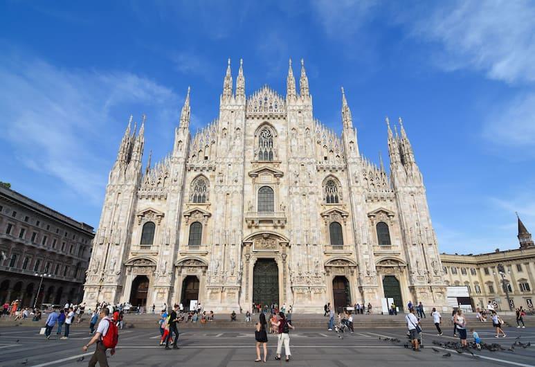 Luxury Duomo Rooms, Milano, Vista dall'hotel
