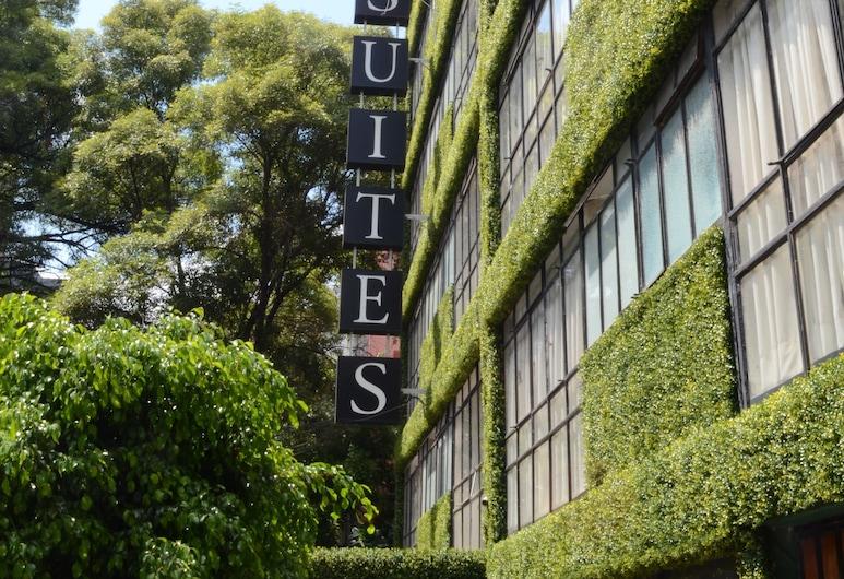 Suites Havre, Mexico City, Property entrance
