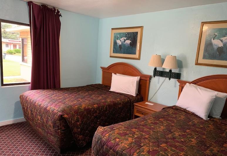Travel Inn of Daytona, Daytona Beach, Double Room, 2 Double Beds, Non Smoking, Guest Room