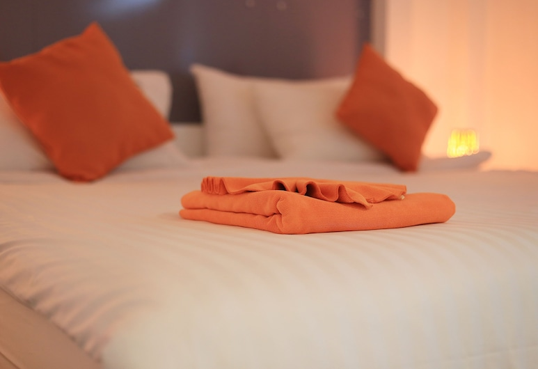 The Original Orange Rooms, Nakhon Si Thammarat, Deluxe Double Room, Guest Room