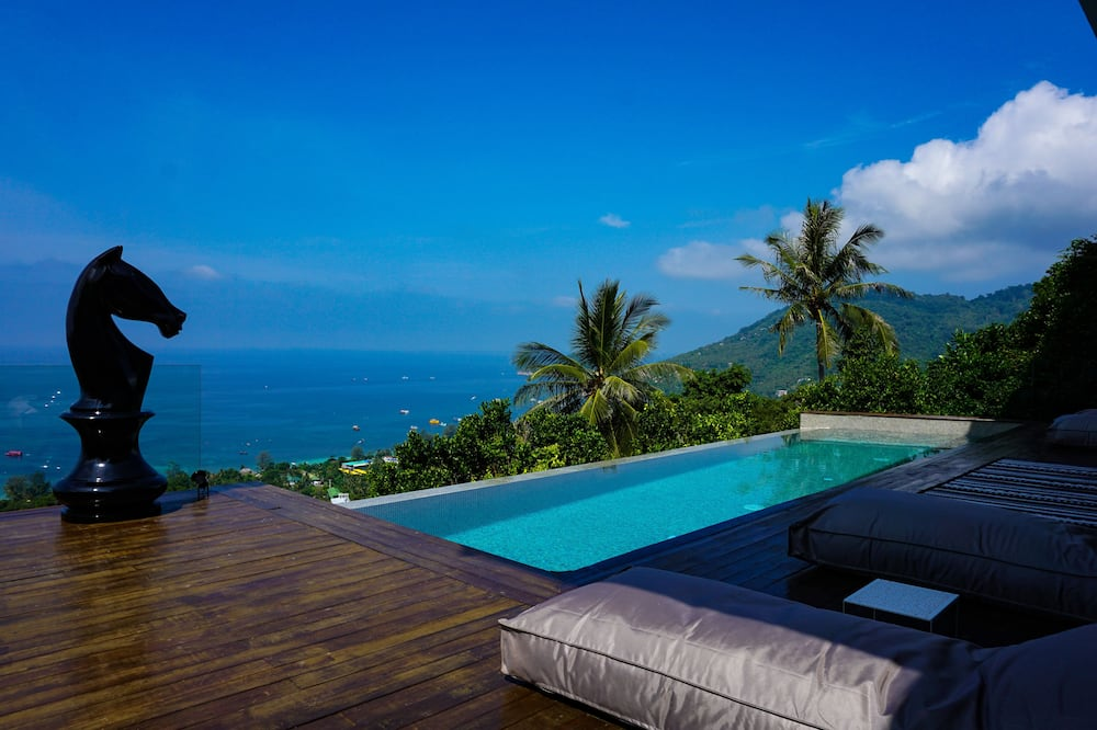 Luxury Triple Room, 3 Bedrooms, Ensuite, Ocean View - Outdoor Pool
