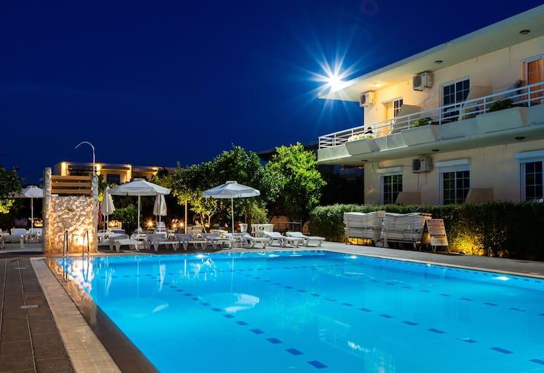 Ilyssion Holidays Apartments & Studios, Rhodes, Kolam