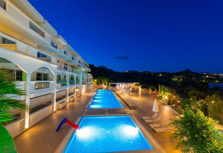 Lindos White Hotel & Suites, Rodosz, Kültéri medence