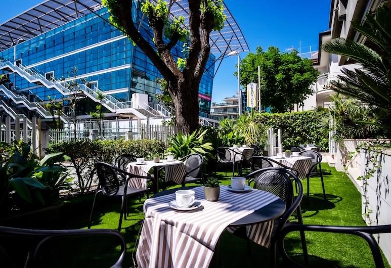 Hotel President, Riccione, Terrace/Patio