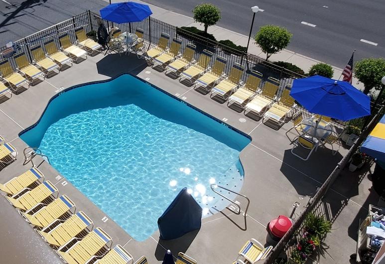 Sea Hawk Motel, Ocean City, Pool
