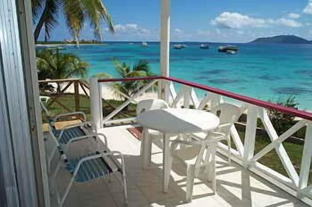 트래디셔널 코티지, 침실 2개, 발코니, 해변 전망 - 대표 사진