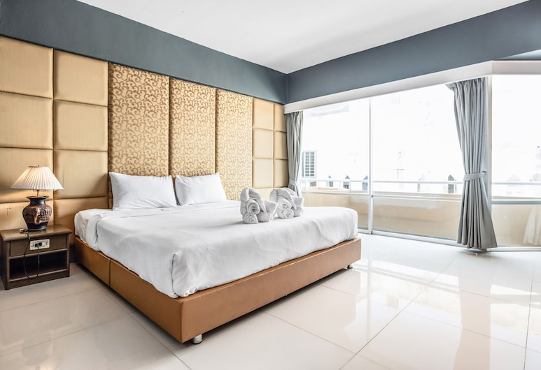 Ayothaya Riverside Hotel Ayutthaya, Ayutthaya, Pagerinto tipo kambarys, Vaizdas iš svečių kambario