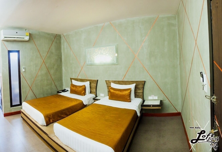 Loft Living Khonkaen, Khon Kaen, Dobbelt- eller tomannsrom – deluxe, Gjesterom
