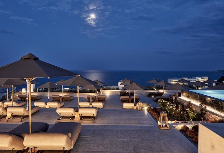 埃斯佩洛斯村藍色 SPA 酒店 - 只招待成人入住, 羅德島, 酒店入口 - 夜景