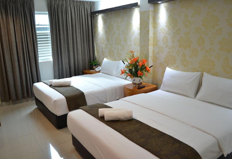 Easy Hotel, Kuala Lumpur, Kamar Triple Deluks, Pemandangan Kamar Tamu
