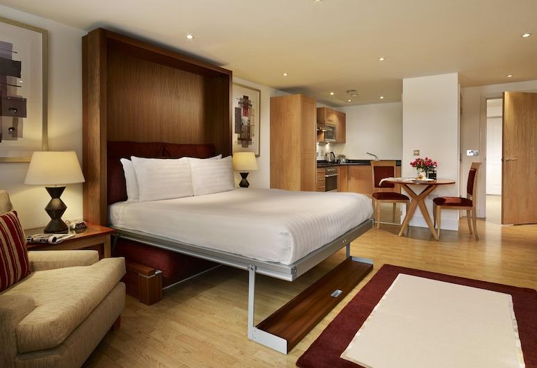 馬林帝國廣場 - 倫敦橋公寓酒店, 倫敦, 開放式客房, 1 張加大雙人床, 客房