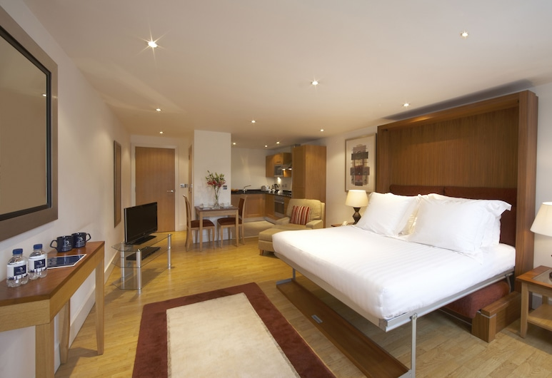 Marlin Apartments Commercial Road - Limehouse, Londen, Studio, 1 queensize bed, Kamer