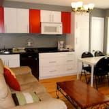 Studiové apartmá, 2 dvojlůžka (180 cm) - Obývací prostor