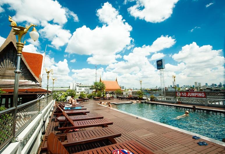 D&D Inn Khaosan, Μπανγκόκ, Χώρος για ηλιοθεραπεία