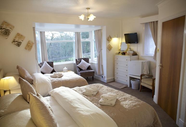 Villa Marina, Σκάρμπορο, Σουίτα, Μπάνιο στο δωμάτιο (First Floor - Room 3), Δωμάτιο επισκεπτών