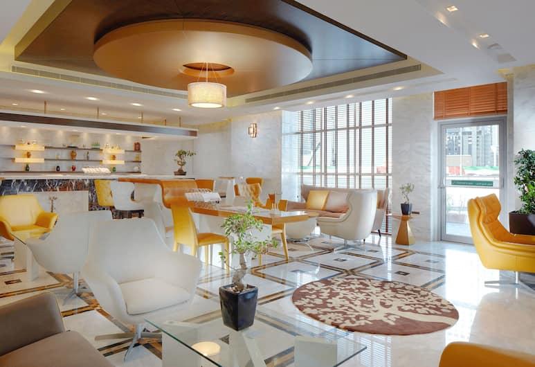 Jannah Burj Al Sarab, Abou Dabi, Bar-salon de l'hôtel