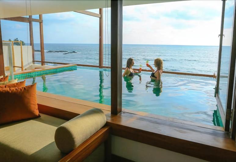 露兜樹海灘渡假溫泉酒店, 班托塔, 總統套房, 陽台