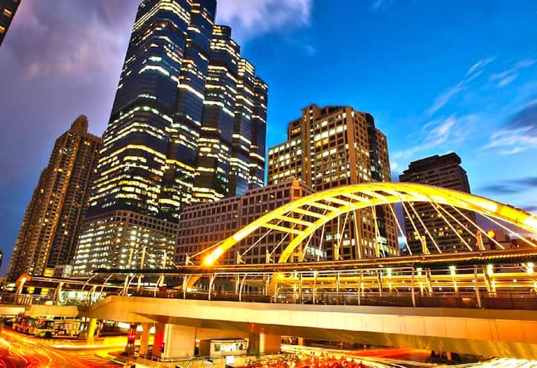 シャトー ドゥ スクンビット, バンコク, ホテルのフロント - 夕方 / 夜間